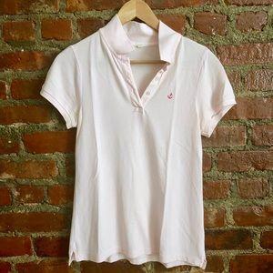 J. Crew Pink Polo Shirt